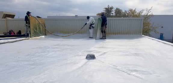 commercial foaming